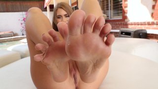 Streaming porn video still #7 from Jill Kassidy Hardcore Foot Job