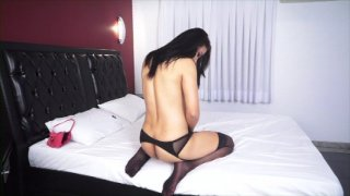 Streaming porn video still #5 from Tranny Panty Busters 5