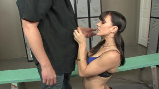 Streaming porn scene video image #1 from Locker Room Anal Domination