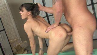 Streaming porn scene video image #2 from Locker Room Anal Domination
