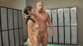 Streaming porn scene video image #6 from Locker Room Anal Domination