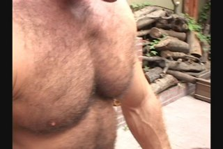 Streaming porn scene video image #3 from Two White Bear Studs Got Set Loose on the Deck