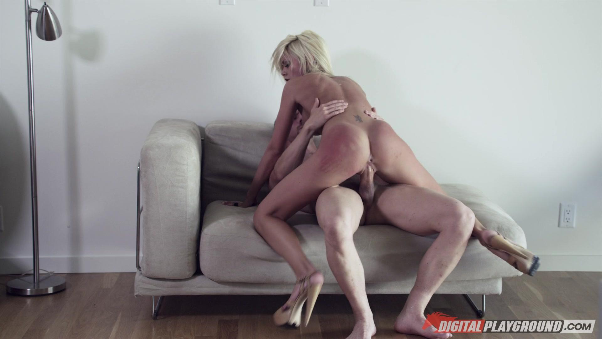 Cockriding stepsister blasted with warm jizz xxx porn