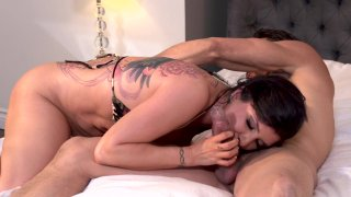 Streaming porn video still #7 from Axel Braun's Inked 4