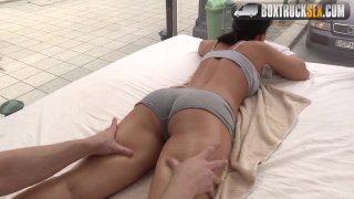 Streaming porn video still #3 from Box Truck Sex: Street Sex 3