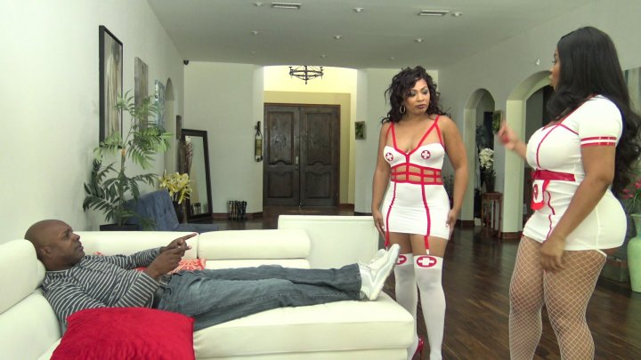 Streaming porn video still #4 from Black Mommas Vol. 4