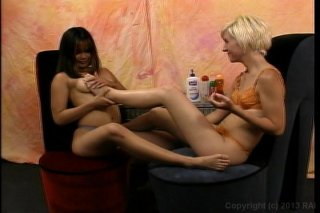 Streaming porn video still #1 from Pretty Feet #5