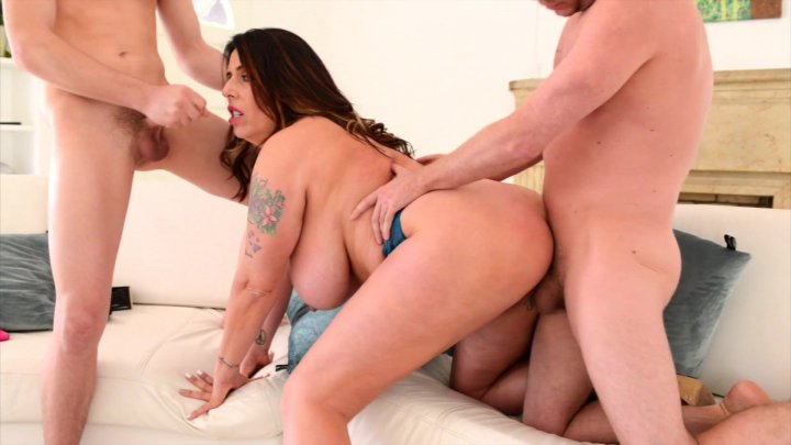 Streaming porn video still #1 from Score Threesomes Hardcut 4
