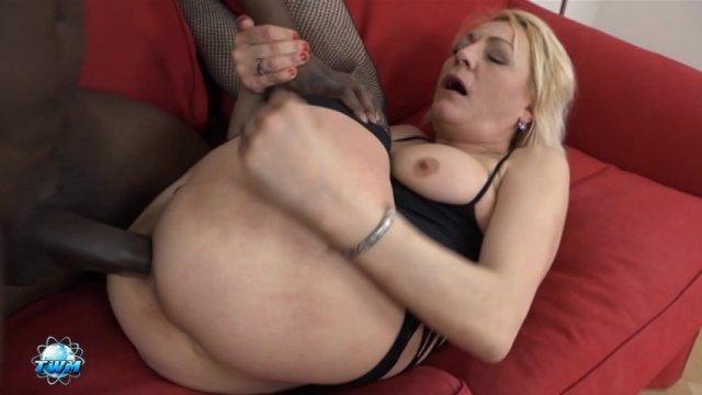 Streaming porn video still #1 from Grandmas Gone Black #3