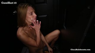 Streaming porn video still #9 from Gloryhole Secrets: Fresh Amateur Faces