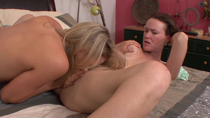 Streaming porn video still #2 from My Stepmom's A Lesbian