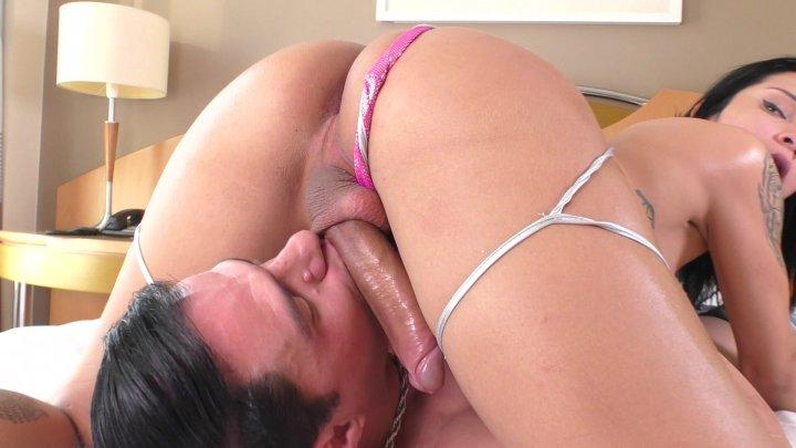 Streaming porn video still #1 from Trans-Visions 14