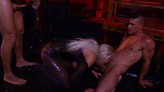 Streaming porn video still #2 from Oil Slick
