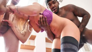 Streaming porn video still #6 from Double Anal Addicts