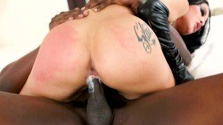 Streaming porn video still #7 from Katrina Jade: Addicted To Black