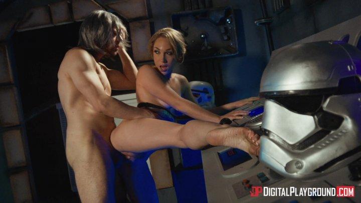 Streaming porn video still #5 from Star Wars: The Last Temptation