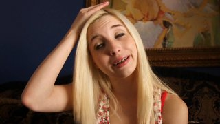 Streaming porn video still #1 from Teen Blowjob Auditions 4