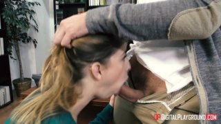 Streaming porn video still #1 from Stuffing The Student