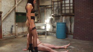 Streaming porn video still #2 from Miss Dixie's Piss Piggy