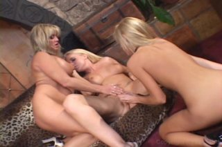 Streaming porn video still #1 from Lesbian Lipstick Seduction #2