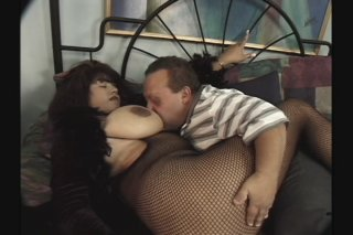 Streaming porn scene video image #1 from Midget with big dick plays with BBW