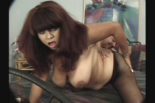 Streaming porn scene video image #8 from Midget with big dick plays with BBW