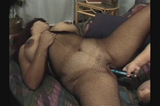 Streaming porn scene video image #9 from Midget with big dick plays with BBW