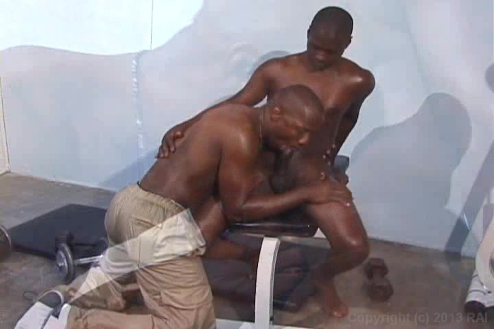 Gay muscle blow job