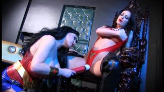 Streaming porn video still #9 from Lesbian Comix