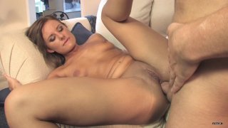 Streaming porn scene video image #5 from Young Hottie Gets Her Butt Plugged