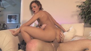 Streaming porn scene video image #9 from Young Hottie Gets Her Butt Plugged