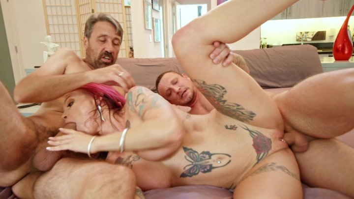 Streaming porn video still #1 from Join Me For A Threesome 4