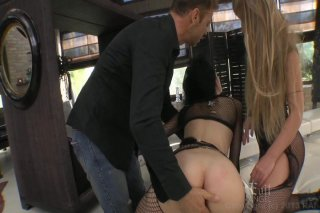 Streaming porn video still #3 from Slutty Girls Love Rocco 5