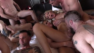 Streaming porn video still #8 from Aubrey Kate Plus 8