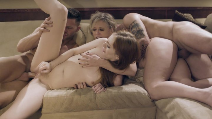 Streaming porn video still #2 from Swapping Family
