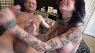 Streaming porn video still #6 from Double Anal Harlots