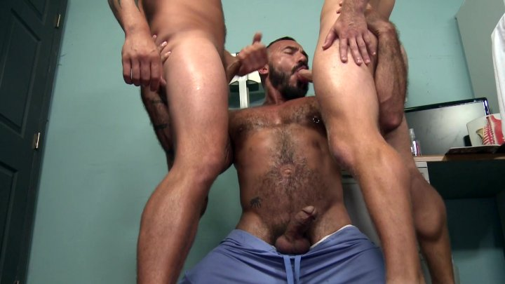 Streaming porn video still #4 from My Doc Grabbed My Cock