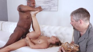 Streaming porn video still #6 from My Wife's First Black Cock