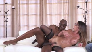 Streaming porn video still #9 from My Wife's First Black Cock