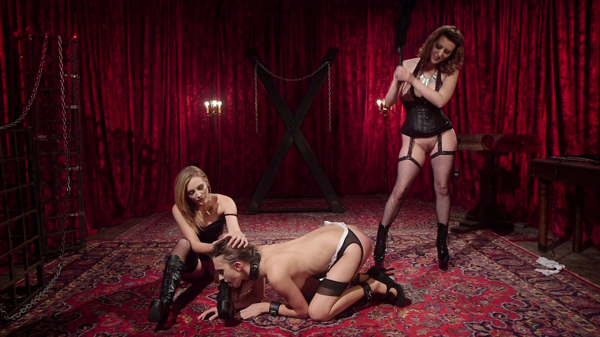 Free Video Preview image 4 from TS Pussy Hunters Presents Revenge Of The  House Slaves