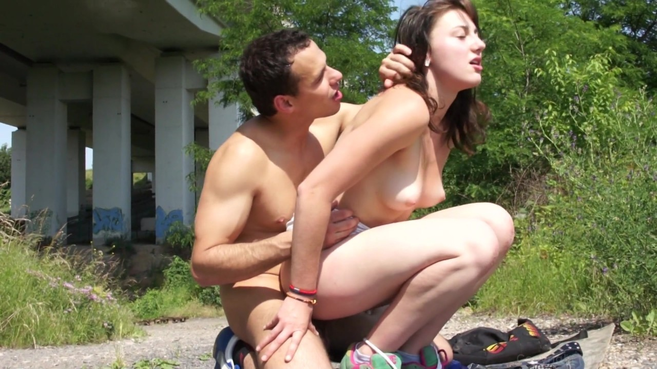 Petite teen crying horny lesbian holiday in holland