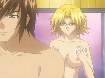 glasses girl Hot anime with