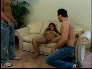 Streaming porn scene video image #3 from Asian Housewife Takes on Two Peepers