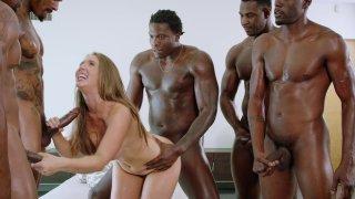 Streaming porn video still #19 from Interracial Icon Vol. 10