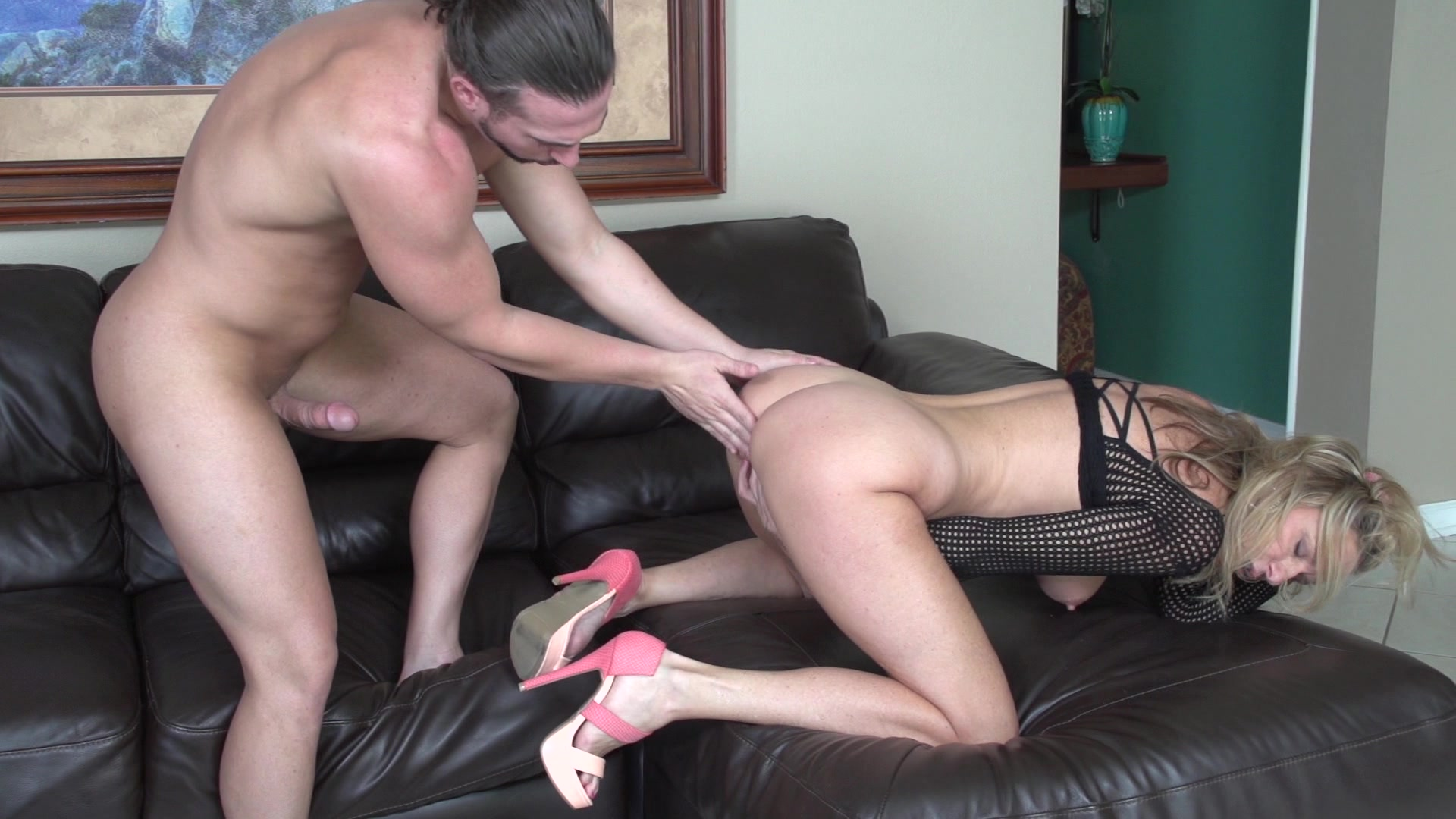 Bad Behaved Stud Sits On A Cock