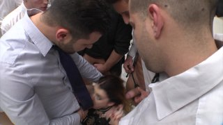 Streaming porn video still #3 from Rocco's Dirty Girls #4
