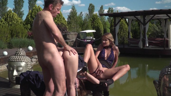 Streaming porn video still #1 from Rocco's Dirty Girls #4