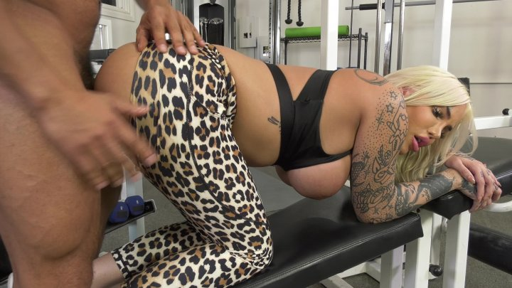 Streaming porn video still #1 from Transsexual Fitness