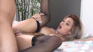 Streaming porn video still #9 from Desperate Black Wives: I Love White Meat 2