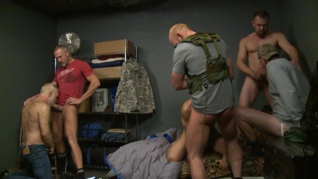 Streaming porn video still #5 from Doomsday Bunker